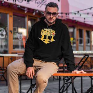 Chess Yellow Hoodie