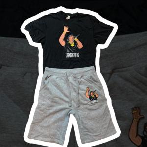 Black T Black Shorts Legends Set